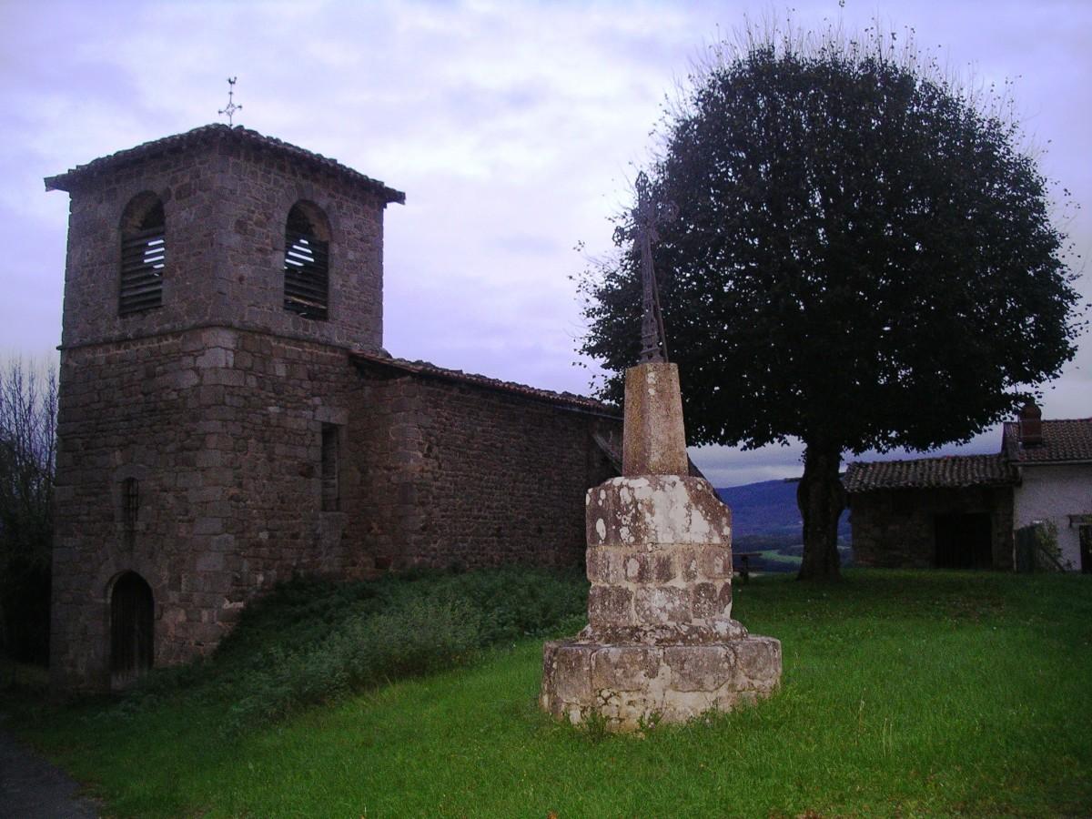 Meymont : l'église.