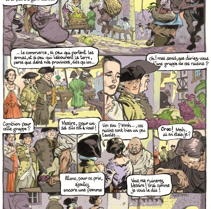bande dessinée Père Gaschon